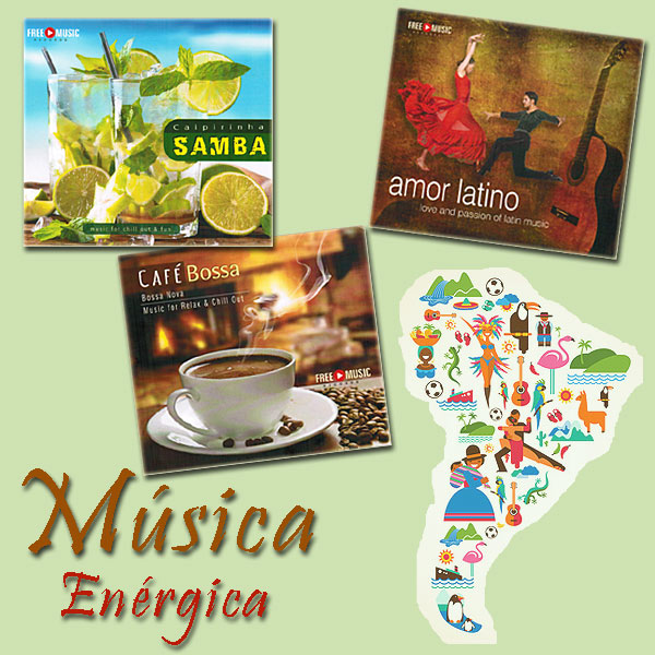CD-Bundle-Cover: Música Enérgica
