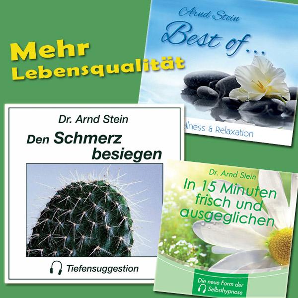 CD-Bundle-Cover: Mehr Lebensqualität
