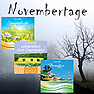 Novembertage (Bundle mit 3 Audio-CDs)