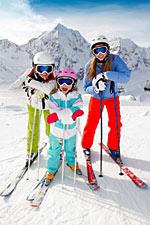 Skifahren wurde zum Lieblings-Sport für den Januar gewählt
