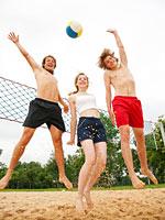 Foto: Volleyball wurde zum Lieblingssport für den Mai gewählt