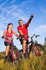 Foto: Radfahren wurde zum Lieblingssport für den Juni gewählt