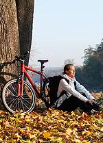 Foto: Mountainbike wurde zum Lieblingssport für den Oktober gewählt