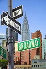 Foto: Der Broadway in New York wurde zum Lieblings-Aufenthaltsort für den Februar gewählt