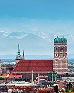 Foto: Die Frauenkirche in München wurde zum Lieblings-Aufenthaltsort für den Juli gewählt