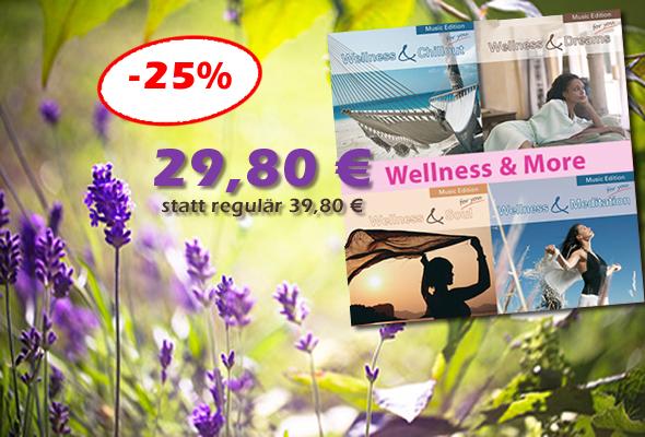 Bundle Wellness & More - jetzt 10 € sparen!