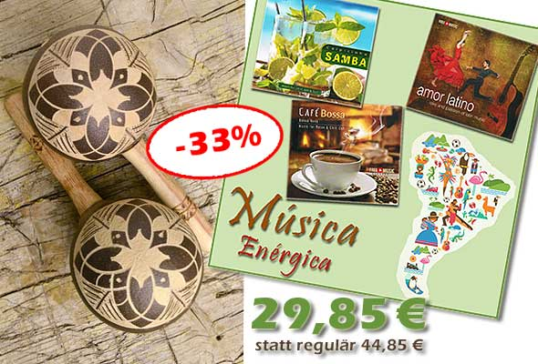 CD-Bundle 'Música Enérgica'