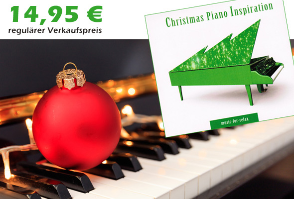 CD 'Christmas Piano Inspiration'