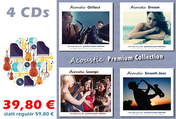 CD-Bundle 'Acoustic Premium Collection'
