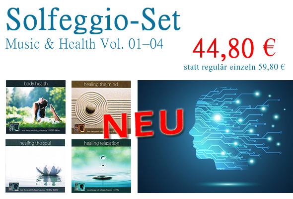 CD-Bundle 'Solfeggio-Set'