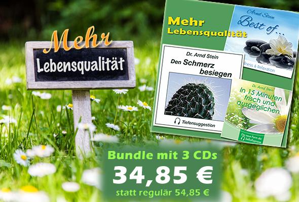 CD-Bundle 'Mehr Lebensqualität'