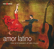 CD-Cover: 'Amor Latino'