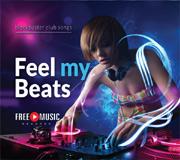 CD-Cover: Feel my Beats