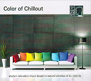 CD-Cover: Color of Chillout