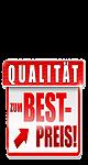 Logo: Qualität zum Bestpreis