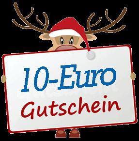 Holen Sie sich Ihren 10-Euro-Gutschein!