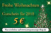 Holen Sie sich den 5-€-Gutschein für Ihren ersten Einkauf im neuen Jahr