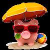 Sparschwein: Unsere Preise machen Urlaub!