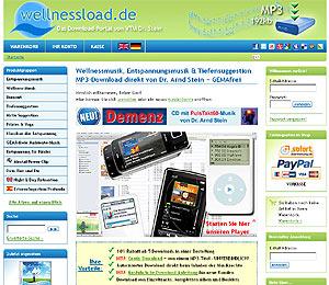 Kommen Sie uns auch einmal auf www.wellnessload.de besuchen!