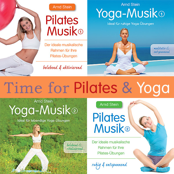 Bundle-Cover: Time for Pilates & Yoga
