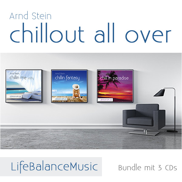 CD-Bundle-Cover: Chillout all over