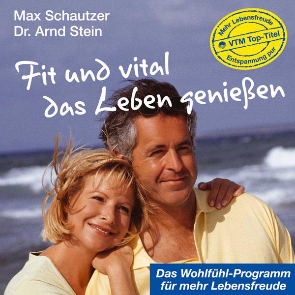 CD-Cover: Fit und vital das Leben genießen