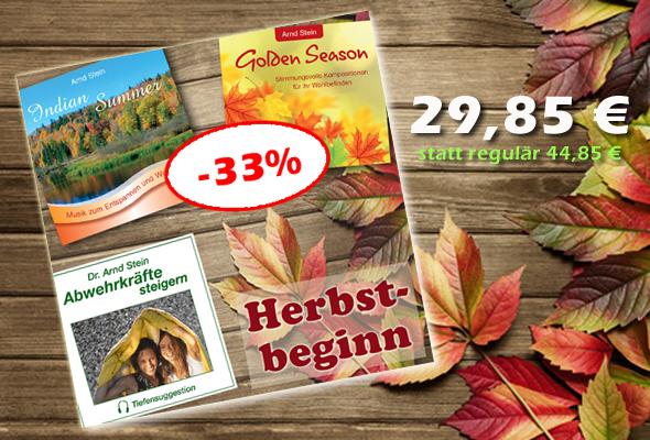 Bundle Herbstbeginn - jetzt 15 € sparen!