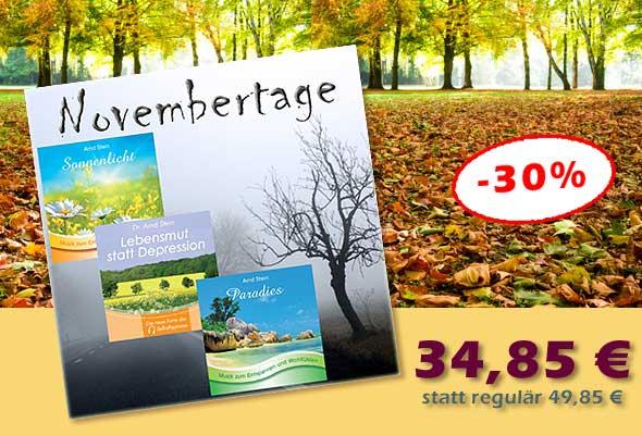 Bundle 'Novembertage' - jetzt 15 € sparen!