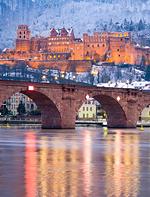Foto: Das Heidelberger Schloss wurde zum Lieblings-Aufenthaltsort für den Dezember gewählt
