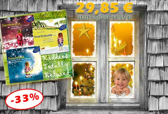 Bundle 'Kiddies Totally Relaxed' - jetzt 15 € sparen!