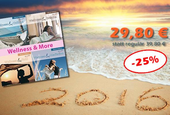 Bundle 'Wellness & More' - jetzt 10 € sparen!