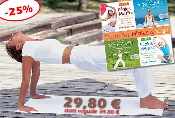 Bundle 'Time for Pilates & Yoga' stark vergünstigt!