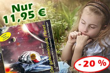 Kinder-CD 'Der geheimnisvolle Planet' jetzt verbilligt