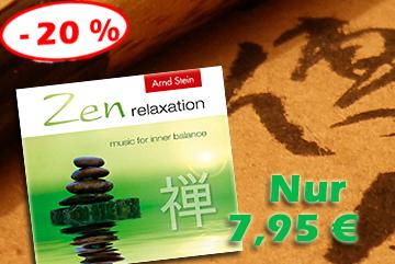 Wellness-Musik 'Zen relaxation' jetzt verbilligt