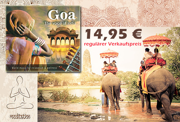 Neue CD 'Goa − The Voice of India'