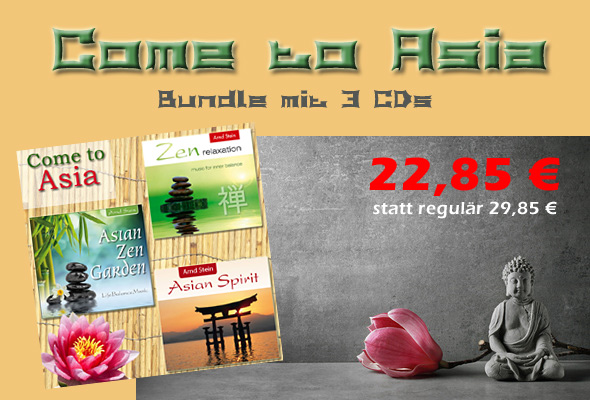 CD-Bundle 'Come to Asia'
