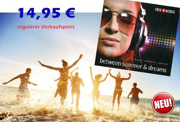 Neue CD 'Between Summer & Dreams'