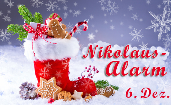 Nikolaus-Alarm (© Floydine, Fotolia)